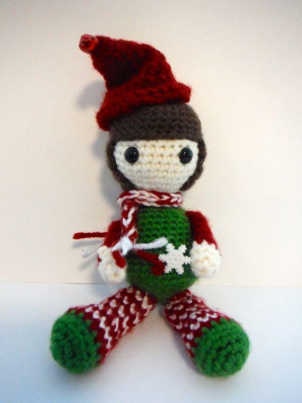 Crochet Elf on the Shelf Crochet Pinterest