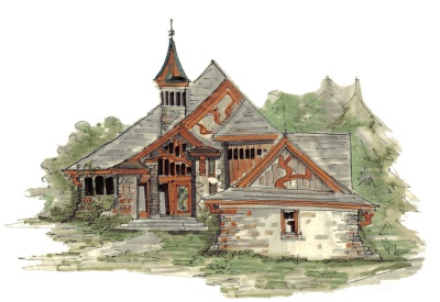 Fairy tales lesson plans and links k 3 share the knownledge for Fairytale cottage home plans