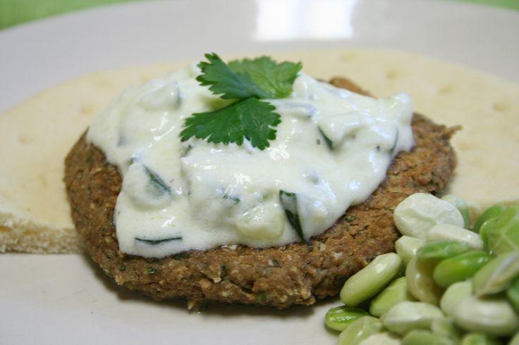 Falafel with Tzatziki sauce | Dinner ideas | Pinterest