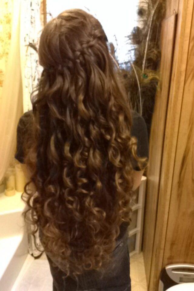 ... braid and curls. Cute | Apostolic Pentecostal Hairstyles