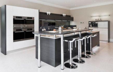 Kitchen with lem piston bar stools – alexander james interiors