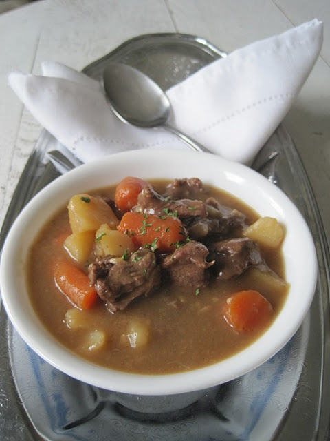Venison Stew.... Now I can actually use all of the meat my husband ...