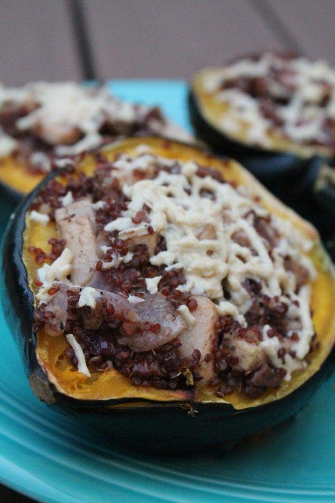 quinoa stuffed squash | Devour | Pinterest