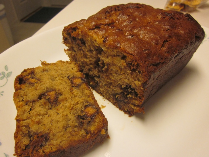 reese's peanut butter banana bread | Working my way through my pinter ...