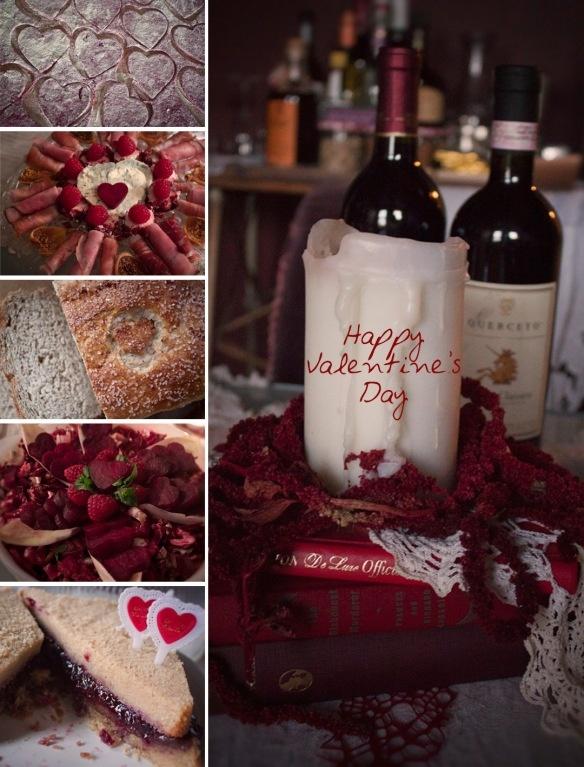 Beet Ravioli Charcuterie Plate Heirloom Wheat Bread Heart Beets Salad ...