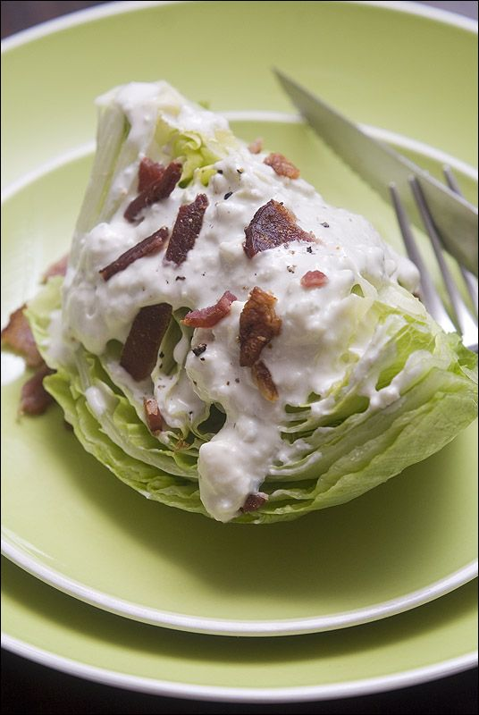 Blue Cheese Dressing recipe - reminds me of Cheescake Factory BLT ...