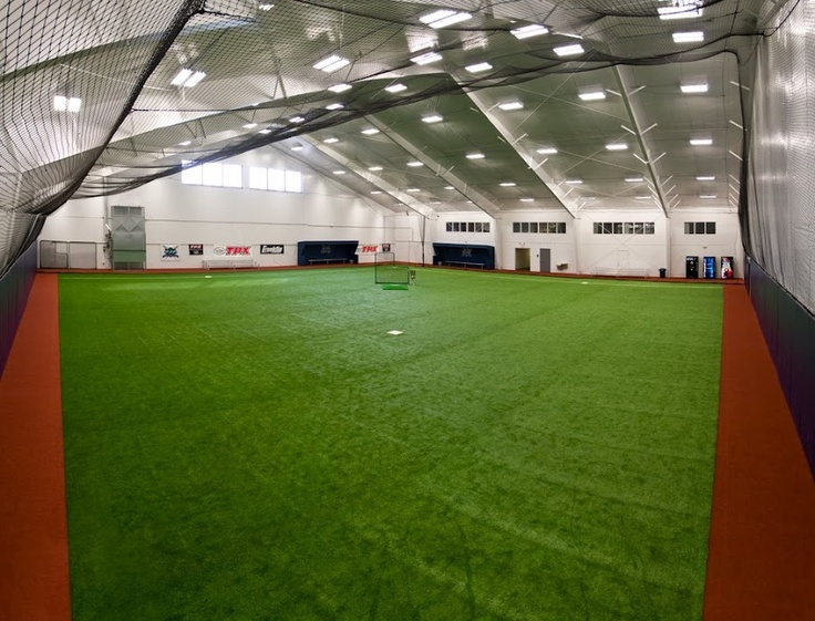 Pin by on deck sports on sports facilities pinterest for Design indoor baseball facility
