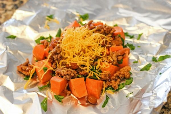 Fresh & Easy Sweet Potato Tacos a la Foil Packets #fneasy - Clever ...