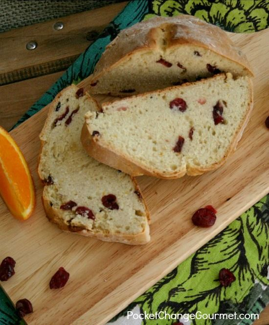 irish soda bread cranberry