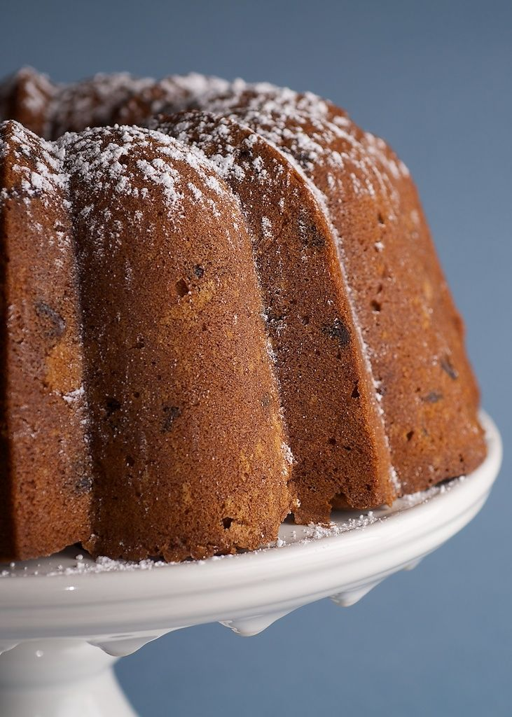 peanut butter pound cake combines chocolate and peanut butter for an ...