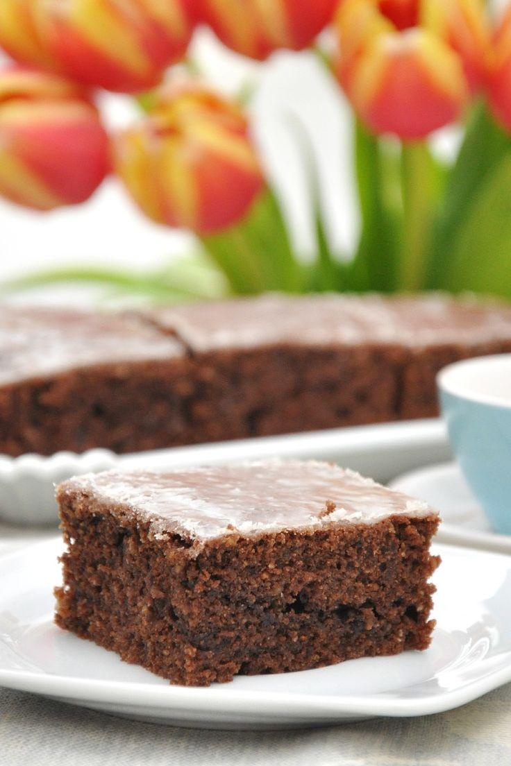 Vegan Chocolate Cake Recipe | Vegan Recipes | Pinterest