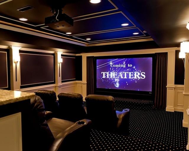Basement Theater Ideas Custom Inspiration Design