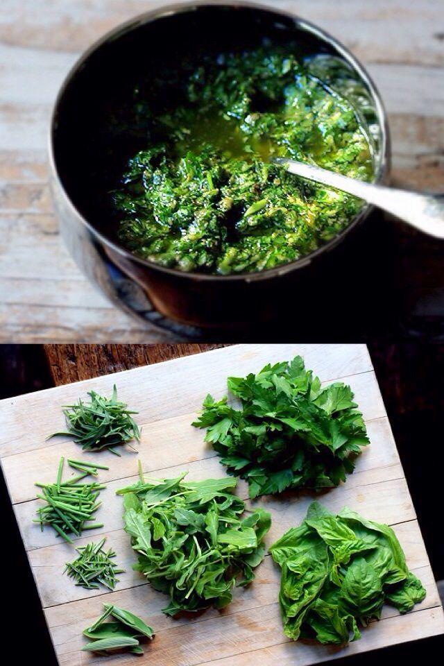 Italian Salsa Verde | Sauce | Pinterest