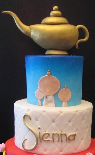 Disney aladin cake