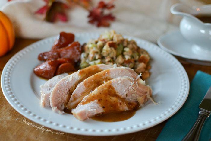 Simple Brined Turkey Breast - A Teaspoon of Happiness