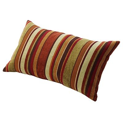 Living Room Pillows on Carnival Striped Decorative Pillow   Living Room Kitchen