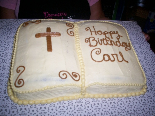 Cake Decorating Bible : Bible cake Cake Decorating Ideas Pinterest