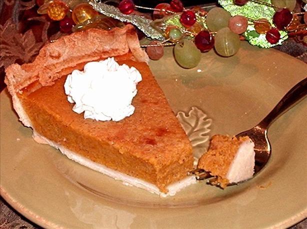 Butternut Squash Pie Recipe - i used sweeten condensed milk in stead ...