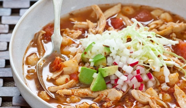 Quick Chicken Pozole | fooooooood | Pinterest