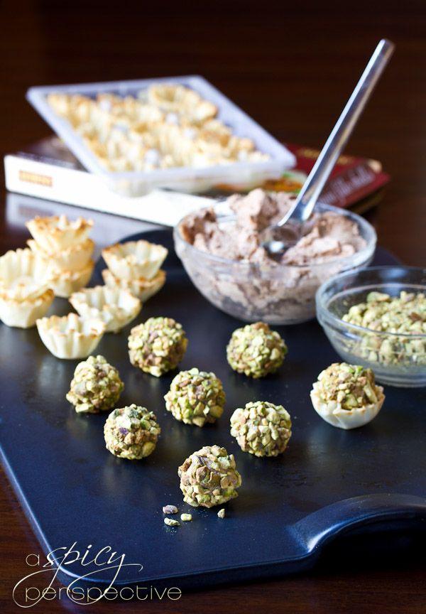 Mini Cheese Balls in Fillo Shells Recipe | Yummy In My Tummy | Pinter ...