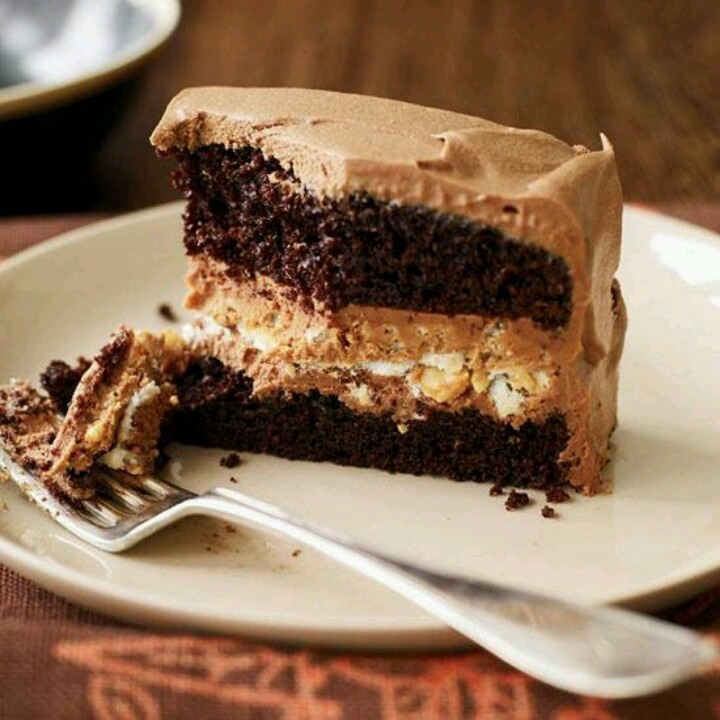Chocolate Peanut Butter Dessert | Food is my passion ...