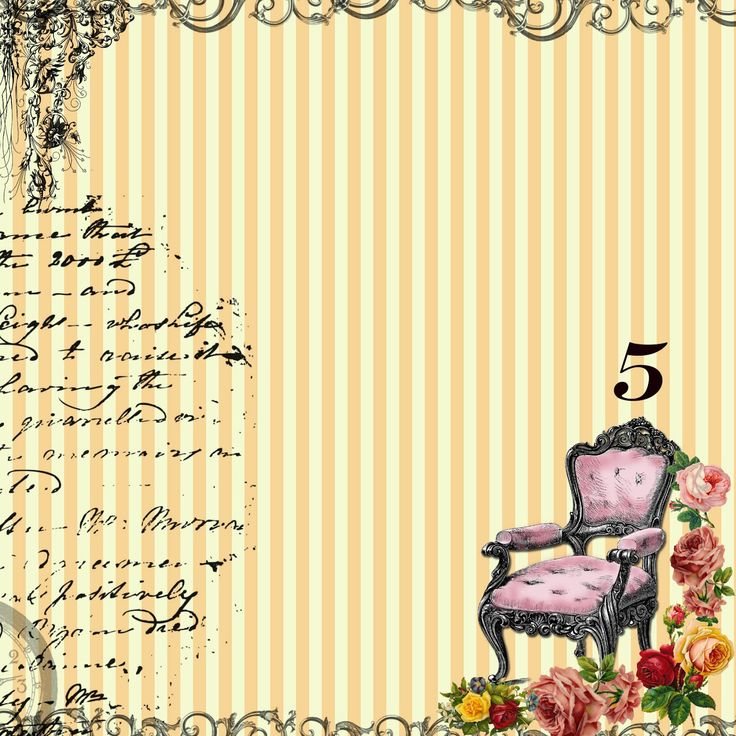 free+digital+scrapbook+paper+-+yellow+stripes+french+chair