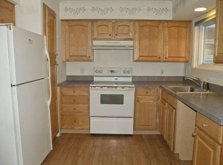 Updated Kitchen With Oak Cabinets Kitchens Pinterest