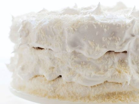 Coconut Angel Food Cake   Recipes   Pinterest