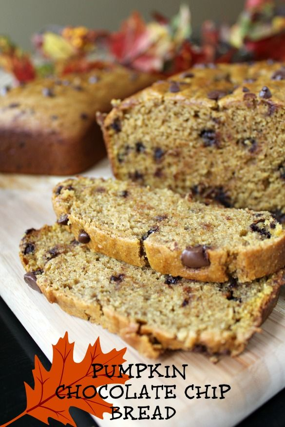 Pumpkin Chocolate Chip Bread | The Ultimate Pumpkin Collection | Pint ...