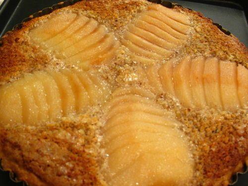 pear frangipane