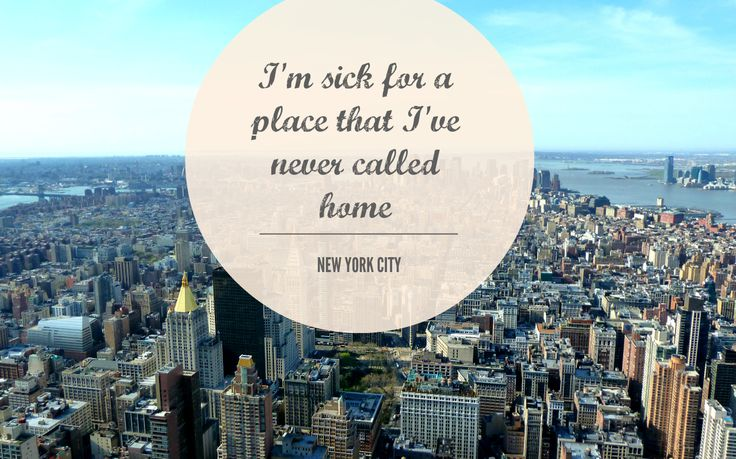 quotes about new york city quotesgram