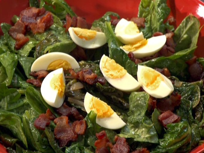Warm Spinach And Mushroom Salad Recipes — Dishmaps