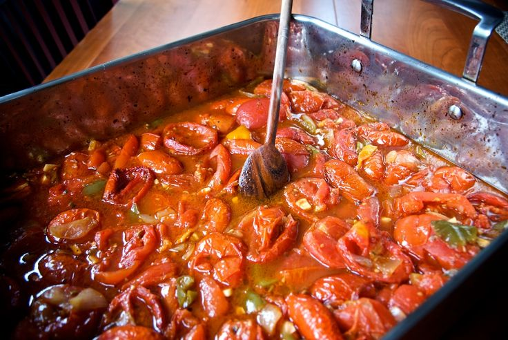 slow roasted plum tomato sauce | Cook, Cooking, Cooked | Pinterest