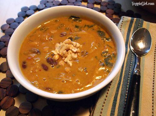 Curried Pumpkin Peanut Soup | Recipe | Pinterest