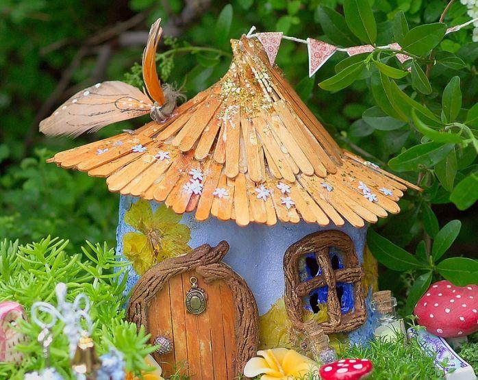 Игры в саду: строим дом для фей