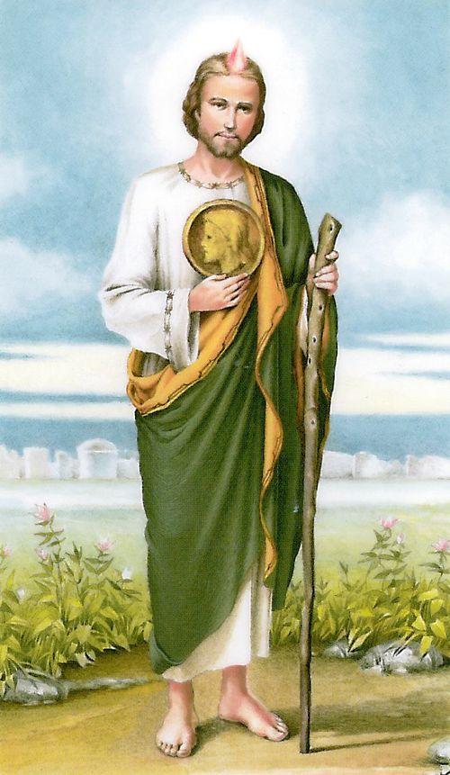 Image detail for st jude prayer card catholic saints pinterest