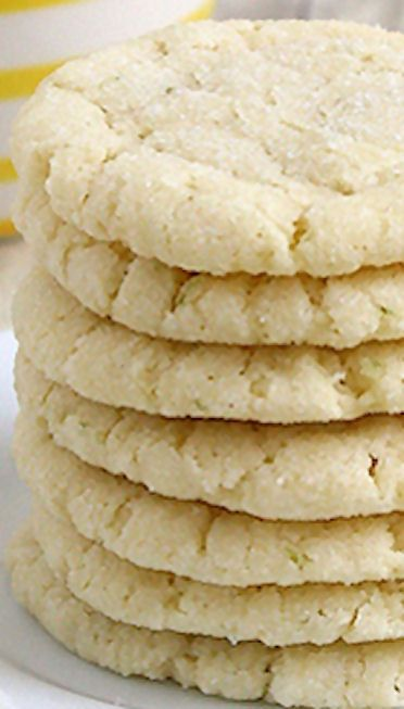 Chewy Coconut Lime Sugar Cookies | Cookies | Pinterest