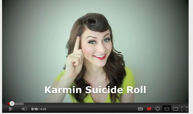 Karmin Suicide Roll Hair Tutorial http://www.youtube.com/watch?v=dG5