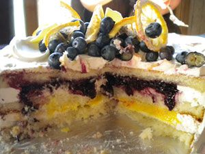 "... made it on the list of ""Ten Best Cakes in America"" by Bon Appetit"