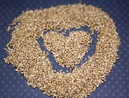 Dry TJ Quick Cook Steel cut oats 2 Tbsp. Chia seeds 2 Tbsp. Flax seeds ...