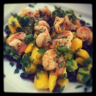 Black Bean, Avocado, And Mango Salad With Cilantro And Lime Recipe ...