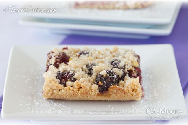 Blackberry-Almond Shortbread — Teenie Cakes