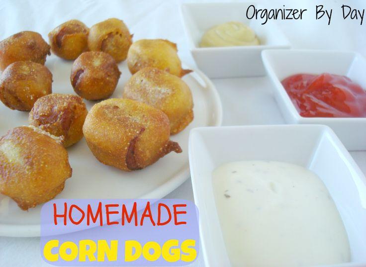 Homemade Corn Dogs on MyRecipeMagic.com | My Recipe Magic Recipes | P ...