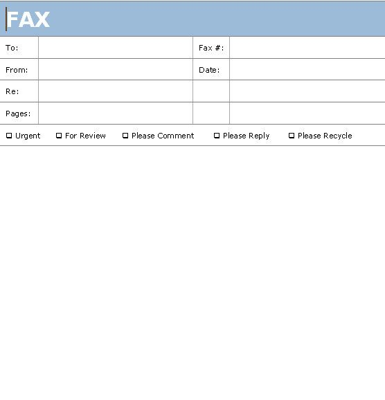 Fax Cover Sheets | free printable fax cover sheet | printable fax ...