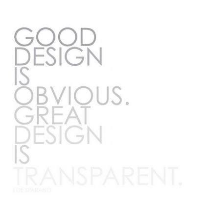 This is a good way to think of design. Very mystifying in the way how it fades into everything as the same color and tinting it