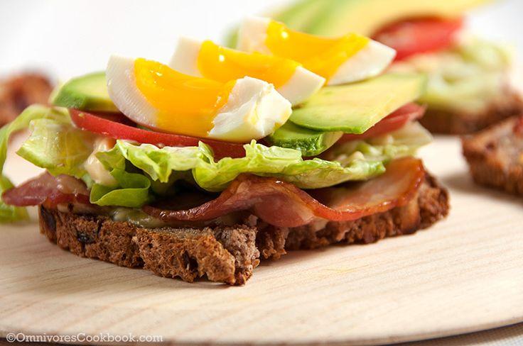 Bacon Egg Avocado Sandwich - Omnivore's Cookbook