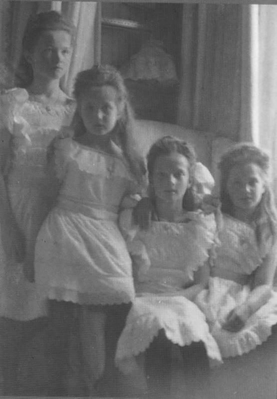 Olga Nikolaevna, Anastasia Nikolaevna, Tatiana Nikolaevna, and Maria Nikolaevna