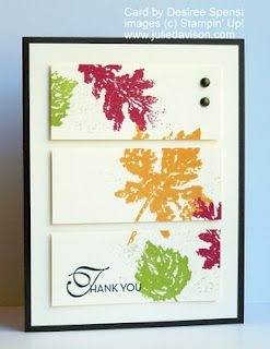Julie's Stamping Spot -- Stampin' Up! Project Ideas Posted Daily