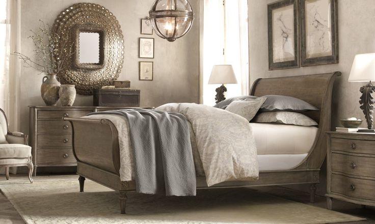 restoration hardware cozy bedrooms pinterest