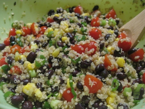 Black Bean and Tomato Quinoa | Kitchen things | Pinterest